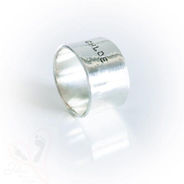 bespoke jewellery silver ring